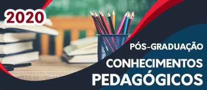 Pós-Graduação em Conhecimentos Pedagógicos 2020