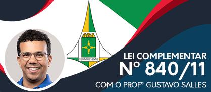 Lei 840: Prof. Gustavo Salles