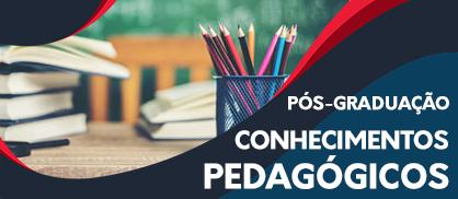 Pós-Graduação em Conhecimentos Pedagógicos